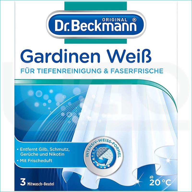 Dr Beckmann Gardinen Weiss saszetki do firan 3x40g