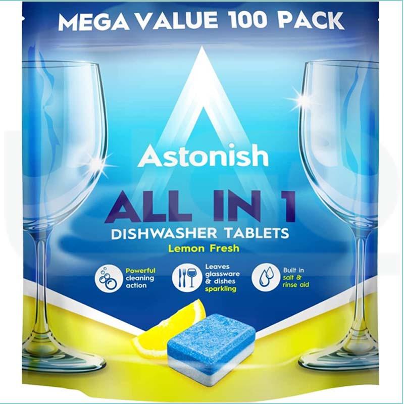 Astonish tabletki do zmywarki All in One 100szt.